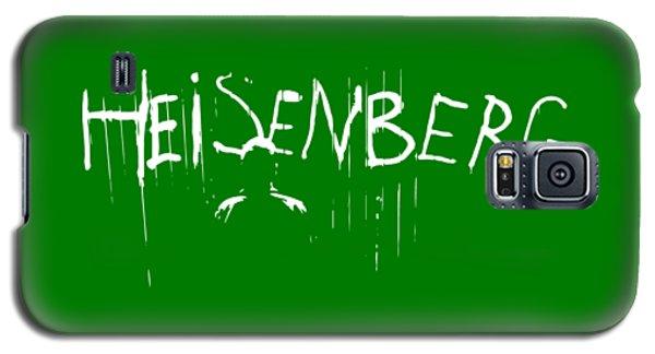 School Galaxy S5 Case - My Name Is Heisenberg - Graffiti Spray Paint Breaking Bad - Walter White - Breaking Bad - Amc by Paul Telling