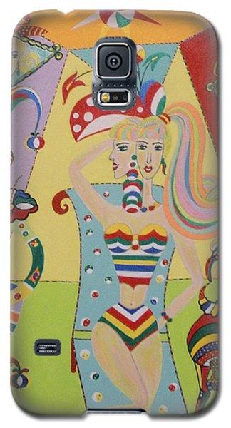 My Name Is Jesica Galaxy S5 Case by Marie Schwarzer