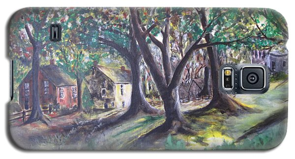 Galaxy S5 Case featuring the painting My Old Southern Plantation Home by Gary Smith