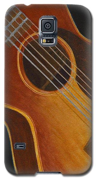 My Old Sunburst Guitar Galaxy S5 Case