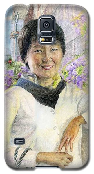 My Second Home Town Galaxy S5 Case by Ping Yan