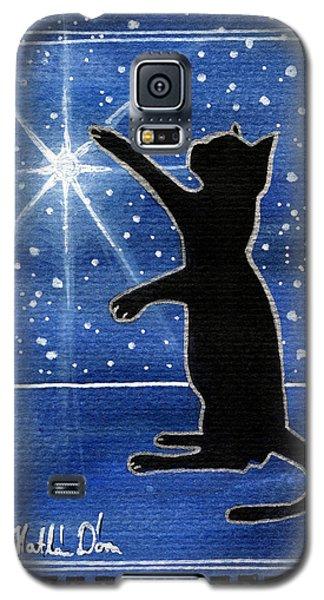 My Shinning Star - Christmas Cat Galaxy S5 Case