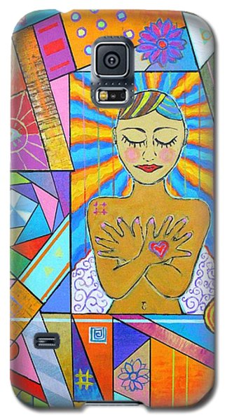 My Soul, I Carry Galaxy S5 Case by Jeremy Aiyadurai