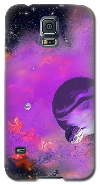 My Space Galaxy S5 Case by Methune Hively