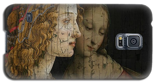 Galaxy S5 Case featuring the mixed media My Special Child by Paul Lovering