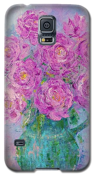My Summer Roses Galaxy S5 Case
