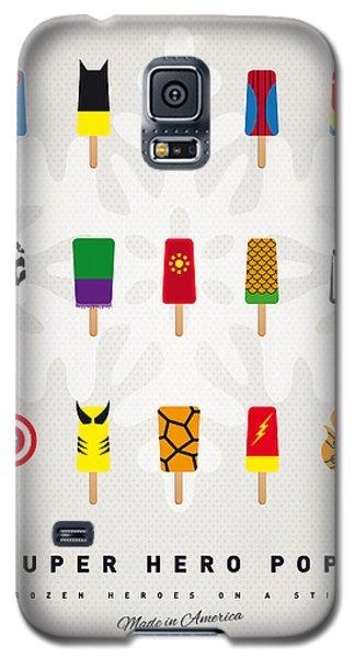 Superhero Galaxy S5 Case - My Superhero Ice Pop - Univers by Chungkong Art