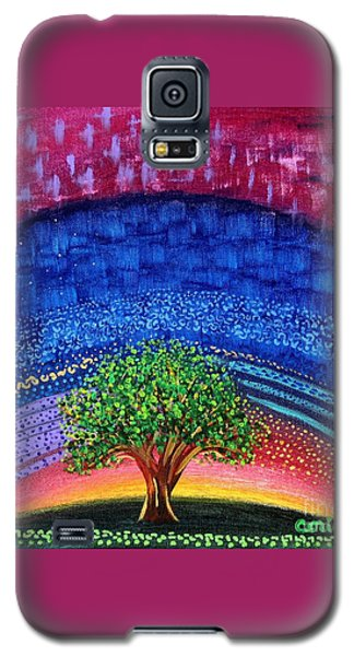 Tree At Nightfall Galaxy S5 Case