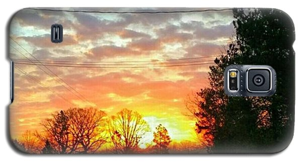Galaxy S5 Case - My View Of The Sunrise This by Robin Mead