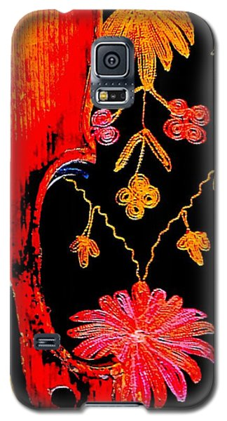 My Violin On Barcelona Shawl Galaxy S5 Case