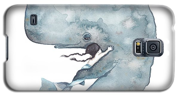 Whale Galaxy S5 Case - My Whale by Soosh