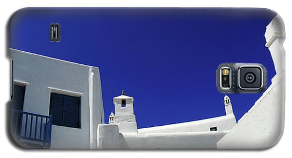 Galaxy S5 Case featuring the photograph Mykonos Greece Clean Line Architecture by Bob Christopher