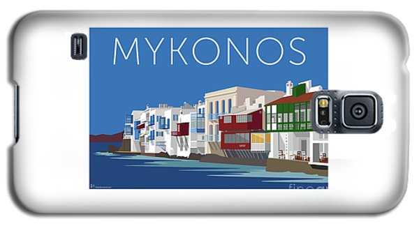 Mykonos Little Venice - Blue Galaxy S5 Case
