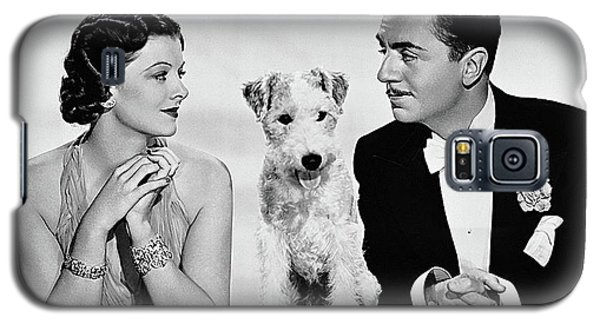 Myrna Loy Asta William Powell Publicity Photo The Thin Man 1936 Galaxy S5 Case