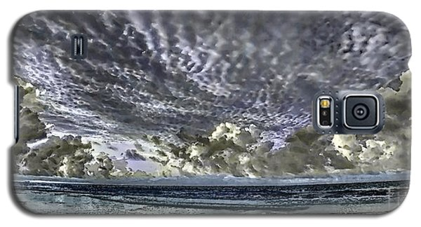 Myrtle Beach Hand Tinted Panorama Sunrise Galaxy S5 Case