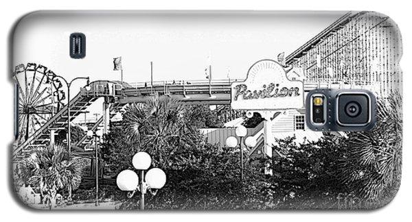 Myrtle Beach Pavillion Amusement Park Monotone Galaxy S5 Case
