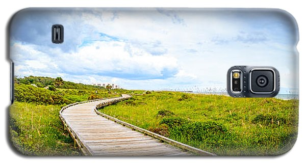 Myrtle Beach State Park Boardwalk Galaxy S5 Case