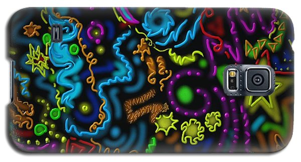 Galaxy S5 Case featuring the painting Mysteries Of The Night by Kevin Caudill