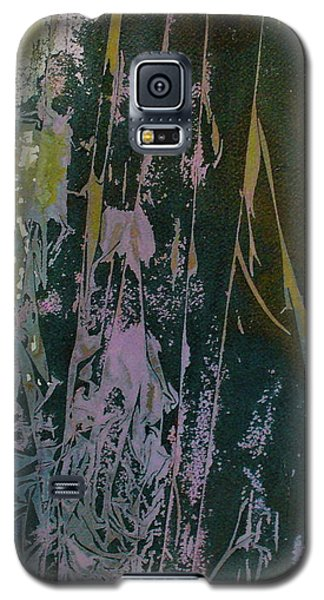 Galaxy S5 Case featuring the painting Mysterion by Mary Sullivan