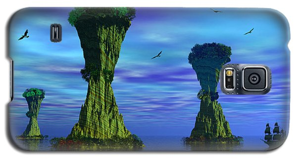 Mysterious Islands Galaxy S5 Case