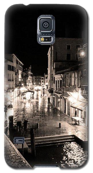 Mysterious Venice Monochrom Galaxy S5 Case