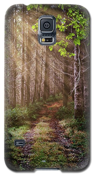 Galaxy S5 Case featuring the photograph Mystery At Dawn by Debra and Dave Vanderlaan