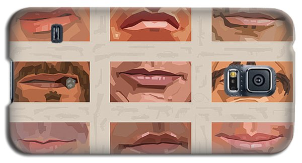 Mystery Mouths Of The Action Genre Galaxy S5 Case by Mitch Frey