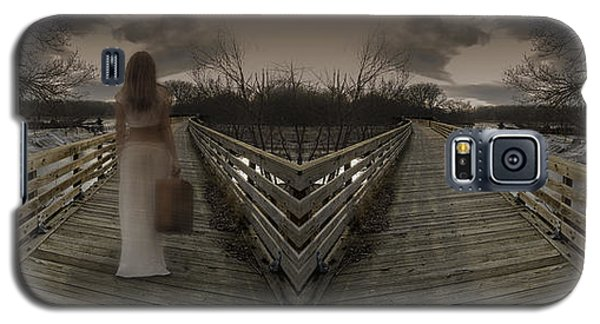 Mystic Bridge In A Dream World Galaxy S5 Case