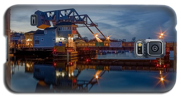 Mystic Drawbridge At Twilight Galaxy S5 Case