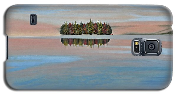 Galaxy S5 Case featuring the painting Mystic Island by Kenneth M  Kirsch