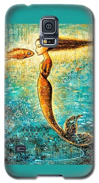 Mermaid Galaxy S5 Case - Mystic Mermaid Iv by Shijun Munns