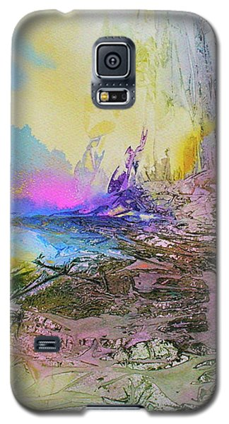 Galaxy S5 Case featuring the painting Mystic Rendevous by Mary Sullivan