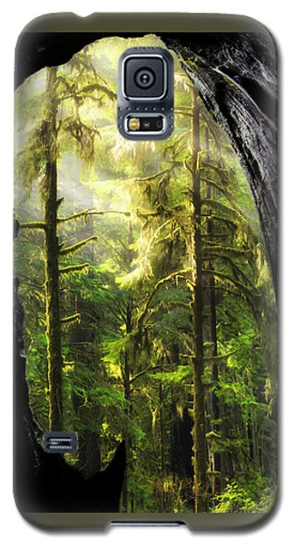 Mystical Forest Opening Galaxy S5 Case