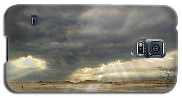 Galaxy S5 Case featuring the digital art Mystical Light by Franziskus Pfleghart