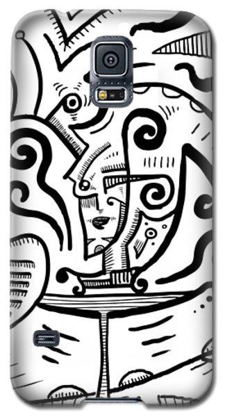 Mystical Powers - Surrealism Galaxy S5 Case