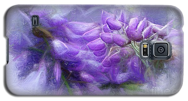 Galaxy S5 Case featuring the photograph Mystical Wisteria By Kaye Menner by Kaye Menner