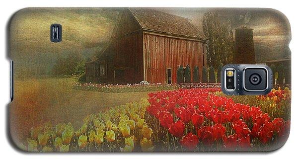 Mythical Tulip Farm Galaxy S5 Case by Jeff Burgess