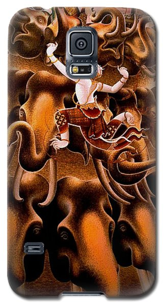 Mythical Warrior Of Siam Galaxy S5 Case