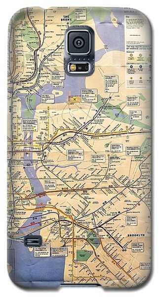 N Y C Subway Map Galaxy S5 Case