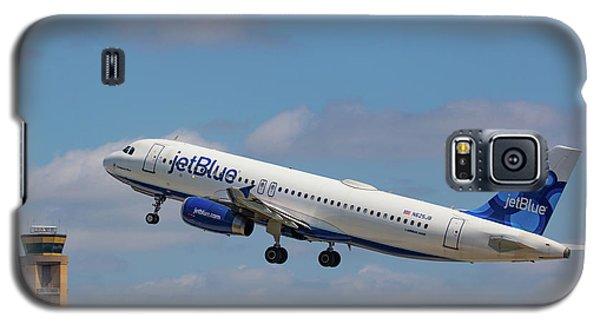 N625jb Jetblue At Fll Galaxy S5 Case