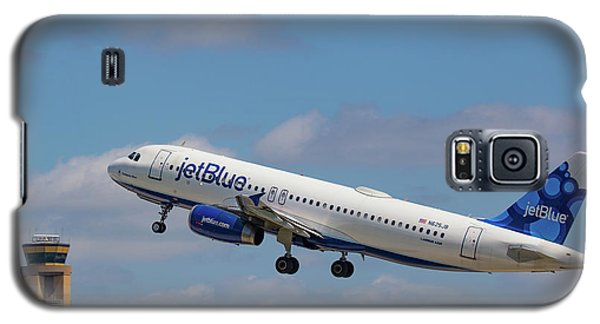 N625jb Jetblue At Fll Galaxy S5 Case