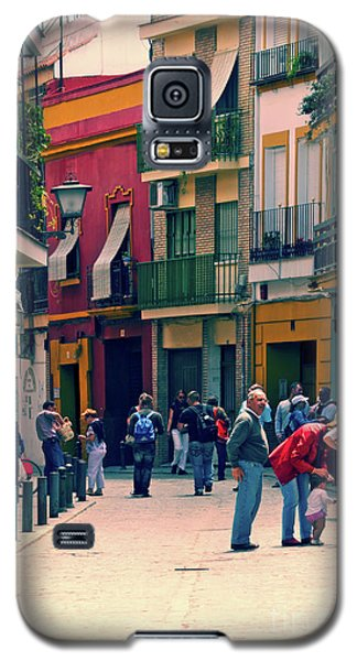Galaxy S5 Case featuring the photograph Triana On A Sunday Afternoon 1 by Mary Machare