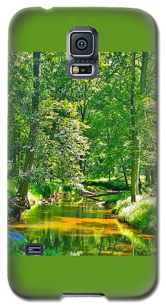 Galaxy S5 Case featuring the photograph Nadine's Creek by Kathy Kelly