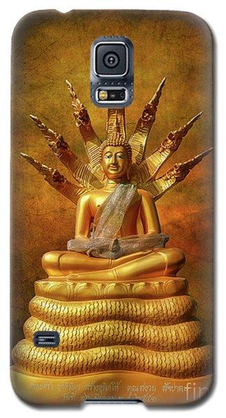 Galaxy S5 Case featuring the photograph Naga Buddha by Adrian Evans