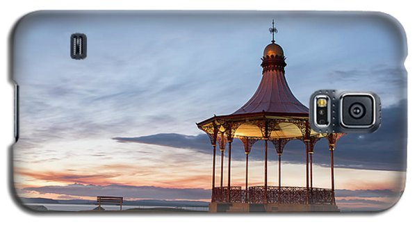 Nairn Bandstand At Dawn Galaxy S5 Case
