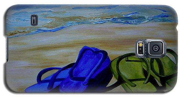 Naked Feet On The Beach Galaxy S5 Case