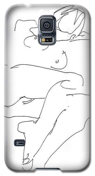 Naked-female-art-21 Galaxy S5 Case by Gordon Punt