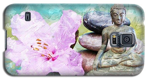 Namaste Buddha Galaxy S5 Case