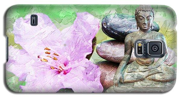 Namaste Buddha. V2 Galaxy S5 Case