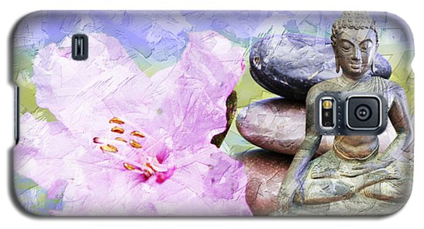 Namaste Buddha. V3 Galaxy S5 Case
